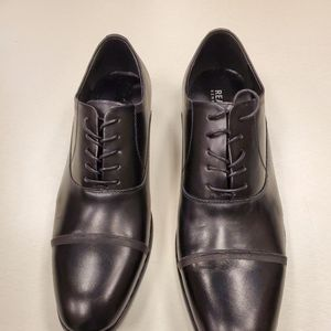 Kenneth Cole  Black Oxford Dress Shoes 10D Like Ne